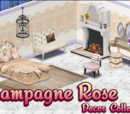 Champagne Rose Decor Collection