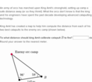 Law of sines and law of cosines word problems