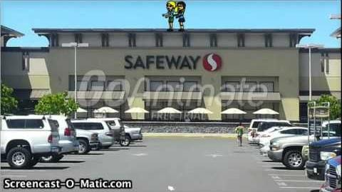 Zoey and Lisa Dance On The Safeway Building Roof and Get Grounded