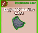 Elegant Gabardine Cape