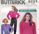 Butterick 6751 C