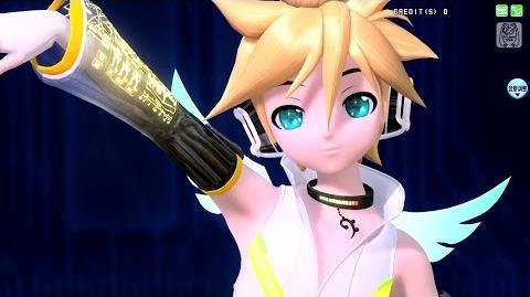 -60fps Rin Len- Electric Angel えれくとりっく・えんじぇぅ - Kagamine Rin Len 鏡音リンレン DIVA Arcade English romaji