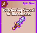 Butchering Sword of Bloodiness