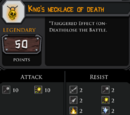 King's necklace of death