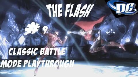 INJUSTICE GODS AMONG US PS3 - FEEL LIKE A FLASH! CLASSIC BATTLE