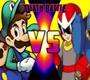 Mario & Luigi vs Mega Man & Proto Man