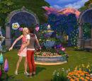 The Sims 4: Romantic Garden Stuff
