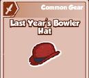 Last Year´s Bowler Hat