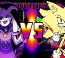 Asriel Dreemurr vs Sonic