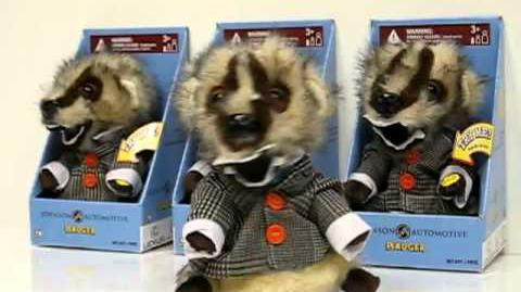 Johnson Automotive Wiggling Badger Doll Preview