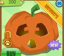 Scared Jack-O'-Lantern