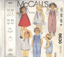 McCall's 9630 B
