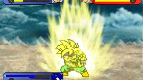 Corey and Sonic vs Broly