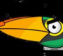 PeridotSuperDorito/¿Porqué Hal no aparece en Angry Birds Toon?