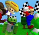 SM64 Bloopers: The Great Yoshi Race.