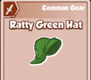 Ratty Green Hat