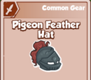 Pigeon Feather Hat