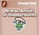 Bronze Amulet of Thunderstorms