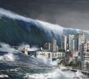 2080 Atlantic Ocean earthquake and tsunami