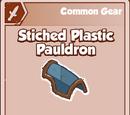 Stitched Plastic Pauldron