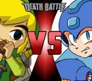Link vs. Mega Man