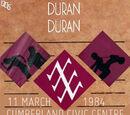Cumberland Civic Centre: 11 March 1984