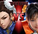 Chun-Li vs Ling Xiaoyu