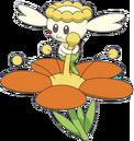 669Flabébé Orange Flower XY anime.PNG