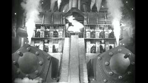 """'Moloch!' clip from """"Metropolis"""" 1927"""