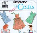 Simplicity 9807 B