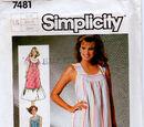 Simplicity 7481 B