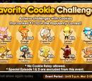 Favorite Cookie Challenge