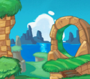 Green Hill Zone (Sonic Chronicles: The Dark Brotherhood)/Gallery