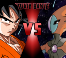 Goku vs Deoxys