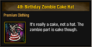 4th Birthday Zombie Cake Hat.png