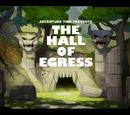 La Sala de Egresos