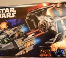 75150 Darth Vader's TIE Advanced and A-wing Fighter