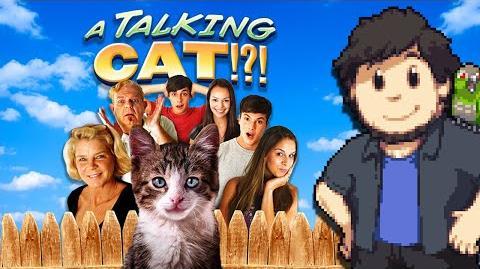 A Talking Cat!?! - JonTron