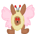 Alive Plush Moth Fuz