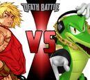 'Sonic vs Street Fighter' themed Death Battles