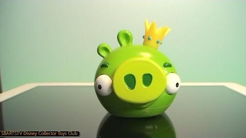 Angry Birds King Pig Magic iPad Toy and Toy App Coolest Toy Reviews