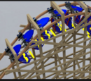Inverted Wooden Coaster