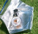 Kuchenka-walizka solarna
