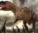 """Blazing Buffalo/""""Tyrannosaurus vs. Carcharodontosaurus"""" Who would win in a fight?"""