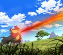 Ash's Pyroar (Aura)