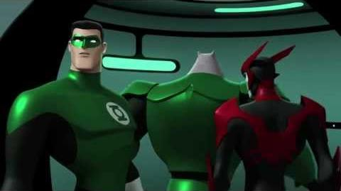 """Green Lantern Animated Series """"Into the Abyss‰"""" (Clip 1)"""