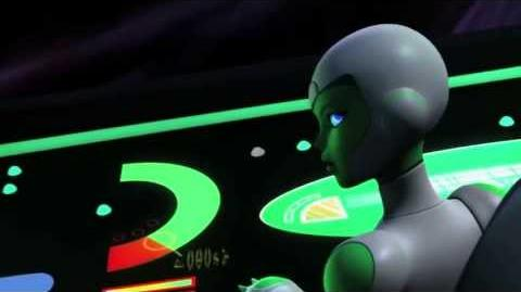 """Green Lantern Animated Series """"Lost Planet"""" (Clip 1)"""