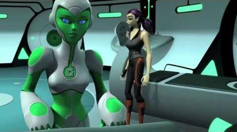 """Green Lantern Animated Series """"Lost Planet"""" (Clip 2)"""
