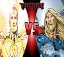 King Thor vs Superman Prime (One Million)