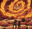 Danza de Espiral de Fuego